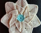 Handmade Crochet Trivet/Hot Pad