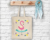 Always Be You Flamingos Tote Bag