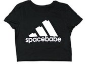 The Moon Cult Space Babe Crop Top s/m and m/l
