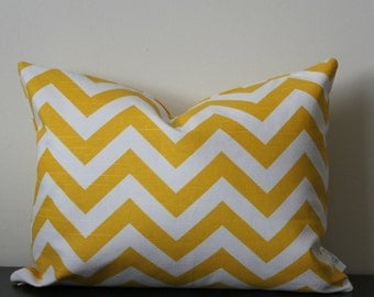 Decorative Throw Pillow Cover, Yellow Lumbar Pillow Cover,12x16,12x18, Lumbar Cover, Accent Pillow, Toss Pillow, Sofa Pillow