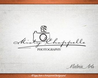 Photography Logo and Watermark...Logo design...Pre made logo design...Camera logo BUY 2 and GET 1 FREE!!!
