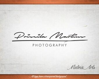 Photography Logo and Watermark...Logo design...Pre made logo design - Photographer logo BUY 2 and GET 1 FREE!!!