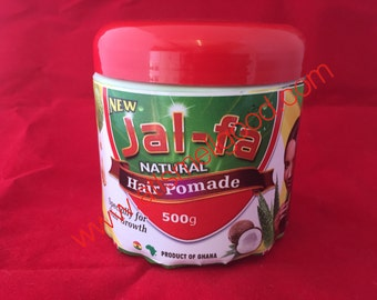 Jal-fa natural hair pomade specially for hair growth with natural ingredients 16oz **500g