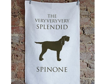 Spinone Tea towel - Italian Spinone - Spinoni - Spinone - Spinone gift - Spinoni Italiano - Spinoni gift - Spinone Dish cloth - Spinone Love