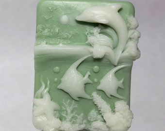 Jasmine Scented Dolphin Goat Milk Soap
