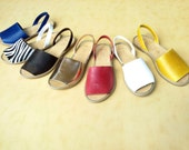 Greek AVARCAS  Leather Sandals
