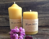 Pure Beeswax Candle Cotton Wick Beeswax Sugar Cone Candle 8oz Candle Sweet Smelling Beeswax Sugar Cone Candle