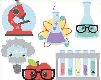 Back to School Clip Art -Personal and Limited Commercial Use- science clipart