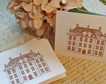 Happy Home - Mini Note Cards - Thank You Cards - Set of 12