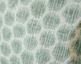 Blue Green Aqua Decorative Lumbar Pillow Cover - 12 x 18 or 12 x 20 Light Blue Green Geometric Dot Pillow Cover