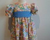 OOAK Girls dress- Size 18-24m