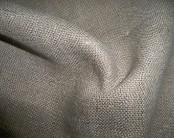 LEE JOFA G P & J BAKER Linen Fabric 10 Yards Natural