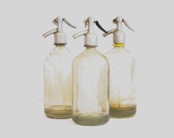 Antique Decorative Seltzer Bottle