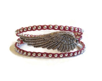 Angel Wing Wrap Bracelet