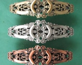 Filigree French Barrette 70MM- Hair Accessories- Barrettes and Clips- French Clips- Hair Accessories- Hair Clips