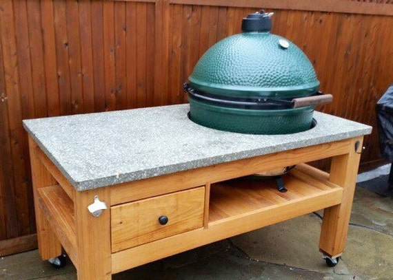Items Similar To Custom Table For XL Big Green Egg On Etsy