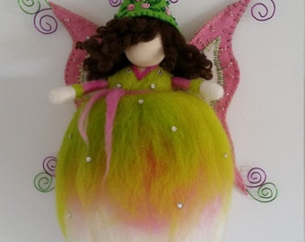 Pinda Fairy needle felted fairy