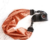 The 'Arrow' Scarf Camera Strap with Quick Release Buckles -- 1.5- 2 inches wide