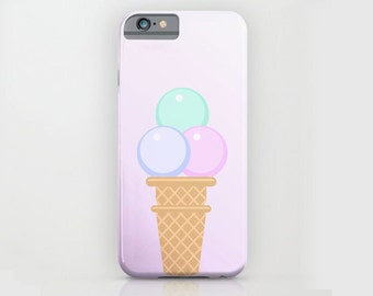 MOBILE SHELL, cell phone pocket, cell phone cover, art and photography, pastel,  Art Print,LILAC