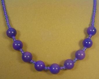 "Purple Passion 18"" Necklace - N315"