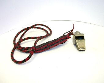Vintage Acme Thunderer Whistle Nylon Strap England