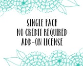 Single Pack No-Credit License Add-On