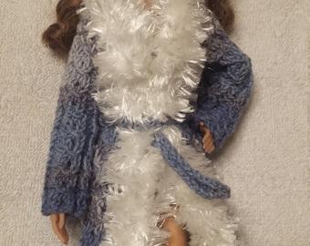 Elegant Barbie sized Knit Jacket
