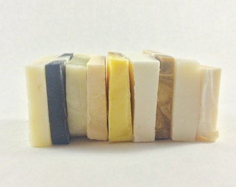 Guest Size Soap - cold process soap - Eight (8) soap variety pack - all natural soap - handmade soap
