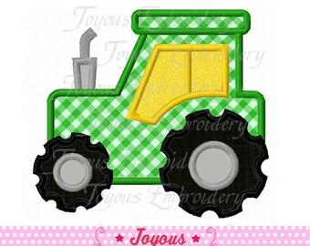 Instant Download Tractor Applique Machine Embroidery Design NO:1727