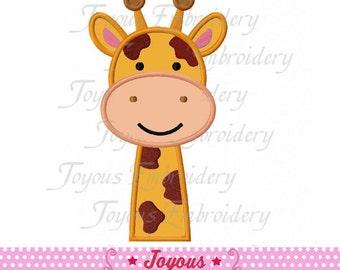Instant Download Giraffe Applique Embroidery Design NO:1758