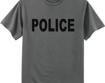 Men's T-shirt / Police tee