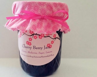 Cherry Berry Jam-4 or 8 0z Sizes / READY TO SHIP