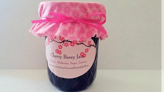 Cherry Berry Jam-4 or 8 0z Sizes / READY TO SHIP