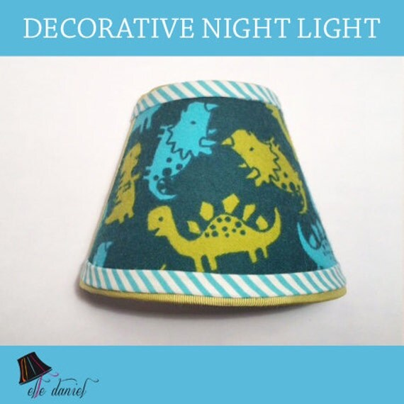 Dinosaur Night Light Decorative Night Lights Fabric Night