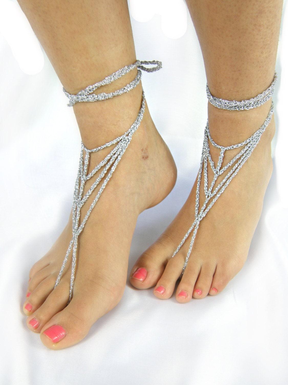 barefoot wedding shoes - photo #16