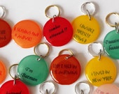 Community Inspired Stich Markers for Knitters or Crocheters You Choose Quantity & Quotes