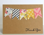 Bunting Notecard Set