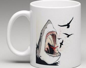 Super Awesome Shark Mug