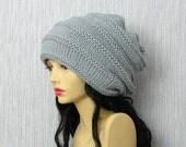 Dreadlock Tam Winter Hat,Chunky Beanie, Large Beanie ,Oversized Beanie ,Slouchy Dreadlock hat ,Women Knit Hat Hand Knit Hat