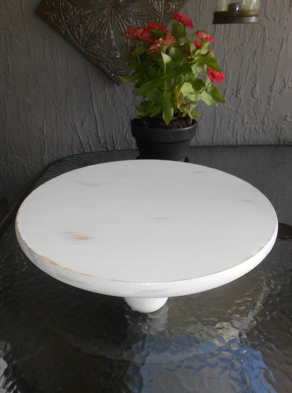 18 round wedding cake stand 18 inch white cake stand wood cake stand serving 10078