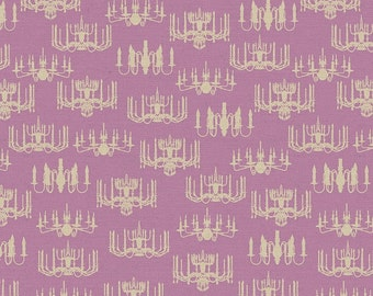 CLEARANCE Victorian Chandelier in Rose by Wild Apple for David Textiles