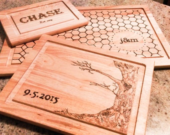 Personalized Cutting Boards- Set of 3