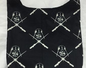 Leader of an Empire Hobo REVERSIBLE CrossBody Bag