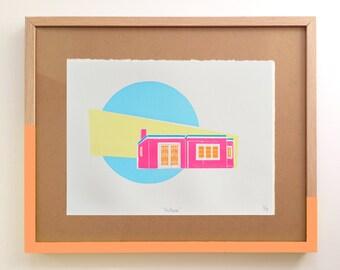 screen print, limited edition art, original artwork, gift idea