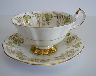Queen Anne Bone China Tea Cup And Saucer #320