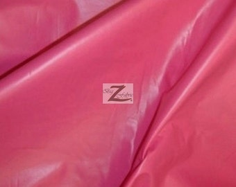 """Solid Two Way Stretch Spandex Costume Dance Vinyl Fabric - FUCHSIA - Sold By The Yard 55/56"""" Width"""