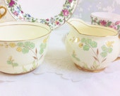 "Grafton ""Aintree"" Creamer and Sugar Bowl from the 1930s"
