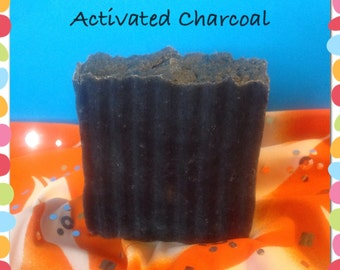 All Natural Activated Charcoal Soap 4+ oz. Bars