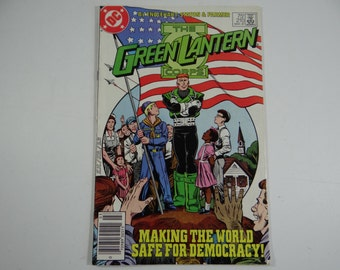 1987 Vintage DC Comics Green Lantern Corps No. 210 Comic Book