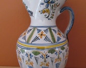 Hand painted pitcher-Spain